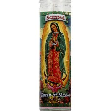 St. Jude Candle Company Queen of Mexico Rose Scented Pink Candle, 8.1 oz, (Pack of 12)