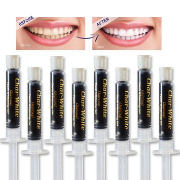 Activated Charcoal Gel for Natural Teeth Whitening - Spearmint Flavor - Organic Charcoal Activated Teeth Whitener - Healthy Teeth White - Made in Usa