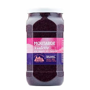 Violette (Grape Must) Mustard 35.3oz (1kg)