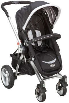 SimmonsA Comfort Tech Urban Buggy Stroller in Black