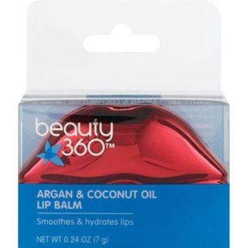 Beauty 360 Argan & Coconut Oil Lip Balm