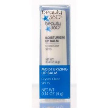 Beauty 360 Moisturizing Lip Balm - Crystal Clear