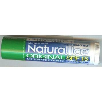 Mentholatum Natural Ice Lip Balm Original SPF 15 1 Each ( Pack of 3)