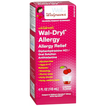 Walgreens Wal-Dryl Children'S Allergy