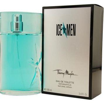 AnGel, Ice Men By Thierry Mugler For Men, Eau De Toilette Spray, 3.4-Ounce Bottle