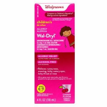 Walgreens Wal-Dryl Children's Allergy Relief, Liquid4.0 fl oz(pack of 12)