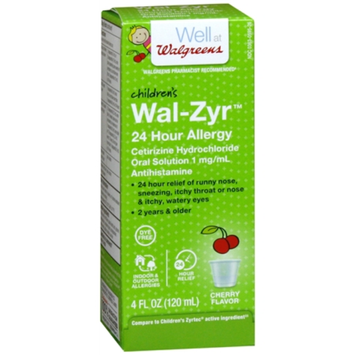 Walgreens Children's Wal-Zyr All Day Allergy Liquid