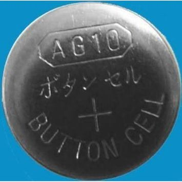 AG10 / LR1130 Alkaline Button Watch Battery 1.5V - 500 Pack - FREE SHIPPING!