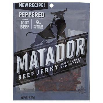Frito Lay Matador Jerky Peppered 3.0oz