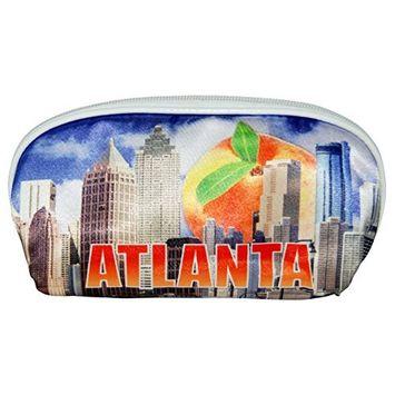 Atlanta Peach Designed Cosmetic Bag