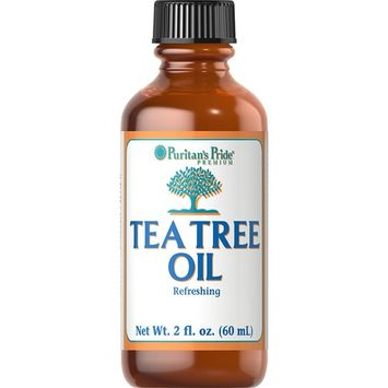 Puritans Pride Tea Tree Oil Australian 100% Pure Oil, 2 Fluid Ounce