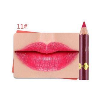 Creazy 1 Pcs 12 Colors Professional Lipliner Makeup Waterproof Lip Liner Pencil