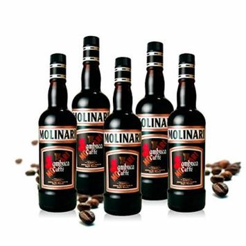 Caffè Coffee Sambuca Molinari (Box 5 Bottles)