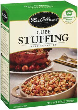 mrs Cubbison's® Herb Seasoned Cube Stuffing