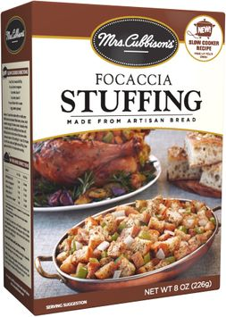mrs Cubbison's® Focaccia Stuffing Made from Artisan Bread