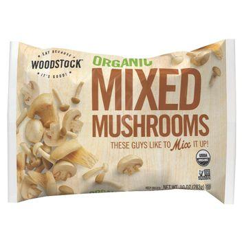 Blue Marble Brands Woodstock Organic Mixed Mushrooms 10 oz