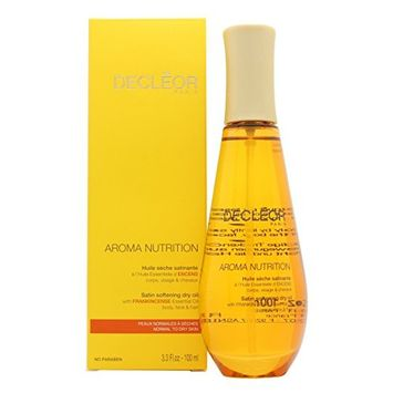 Decleor Aroma Unisex Nutrition Satin Softening Dry Oil,3.3 Oz