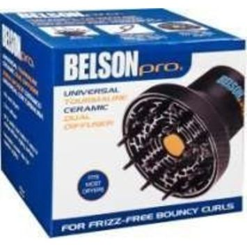 Belson Pro Universal Tourmaline Ceramic Dual Diffuser Best Back to School College Supplies