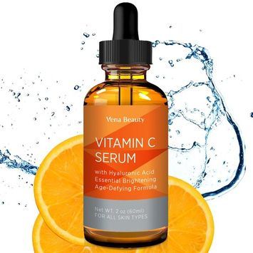 Vena Beauty Vitamin C Facial Serum Anti-Aging Facial Serum with Hyaluronic Acid (White)