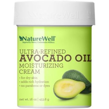 Ultra-Refined Avocado Oil Moisturizing Cream (16 Ounces Cream) by NatureWell at the Vitamin Shoppe