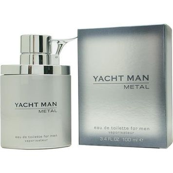 Puige Yacht Man Metal Eau De Toilette Spray, 3.4 Ounce