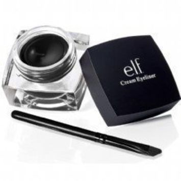 e.l.f. Cosmetics Cream Eyeliner for Smooth Lines That are Defined and Precise,Black