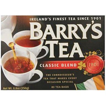 Barry's Tea Bags, Classic Blend, 80 Count, 8.8 Oz