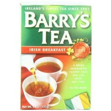 Barry's Tea Bags, Irish Breakfast, 40 Count
