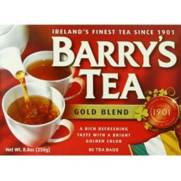 Barry's Tea Bags, Gold Blend, 80 Count