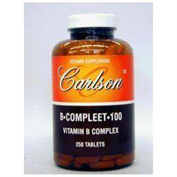 Carlson Laboratories B-Compleet-100 100 MG - 250 Tablets - Vitamin B Complex