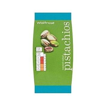 Roasted Salted Pistachio Nuts Waitrose 100g - Pack of 4