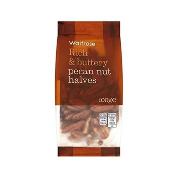 Pecan Nuts Waitrose 100g - Pack of 6