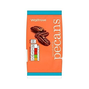 Roasted Salted Pecan Nuts Waitrose 100g - Pack of 6