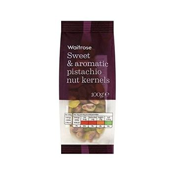 Pistachio Nut Kernels Waitrose 100g - Pack of 2