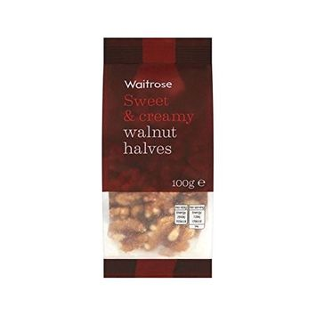 Walnut Halves Waitrose 100g - Pack of 6