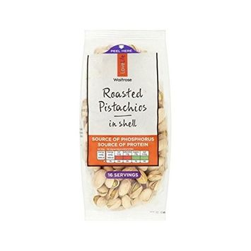 Roasted Pistachio Nuts Waitrose Love Life 400g - Pack of 4