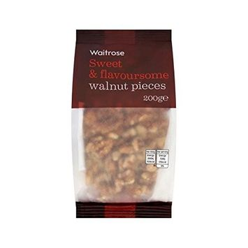 Walnut Pieces Waitrose 200g - Pack of 6