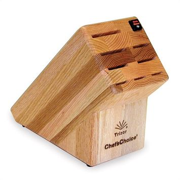 Chef's Choice Chefs Choice 2000001 9 Slot Knife Block in Oak