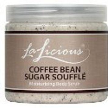 LaLicious Sugar Scrub 16 oz, Coffee Bean