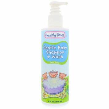 Healthy Times, Gentle Baby, Shampoo & Wash, Tear Free, 8 fl oz(pack of 4)
