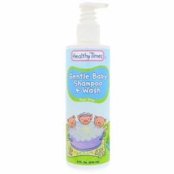 Healthy Times, Gentle Baby, Shampoo & Wash, Tear Free, 8 fl oz(pack of 1)