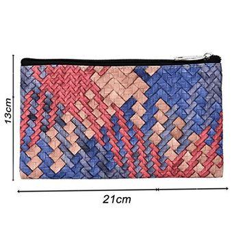 KaiCran Women's Fashion Multifunction Zipper Knitting Travel Cosmetic Bag