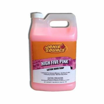 HighFive Pink Lotion Hand Soap, 1 Gallon