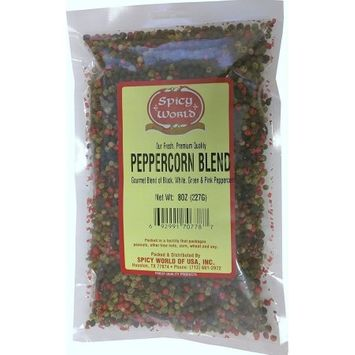 Spicy World Four Peppercorn Gourmet Blend, 8 Oz