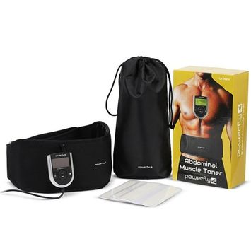 Tonewear Abdominal Toning AB Vibrate Slimming Exercise Weight MuscleToner Belt (Athlete Pack)