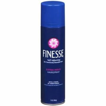 Finesse Extra Hold Aerosol Hairspray 7 oz (Pack of 2)