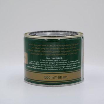 Fiddes Supreme Wax Polish - Rugger Brown