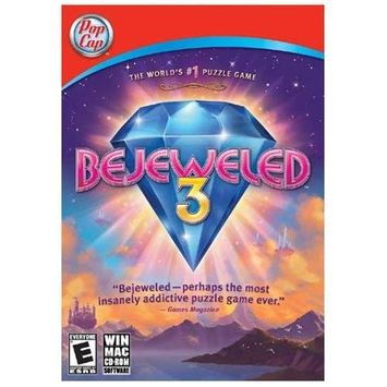 Popcap Games Bejeweled 3 [bonus Includes Zuma Revenge] Pc/mac [streets 10-2-12]