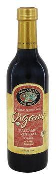 Napa Valley Naturals - Organic Balsamic Vinegar - 12.7 oz (PACK OF 2)