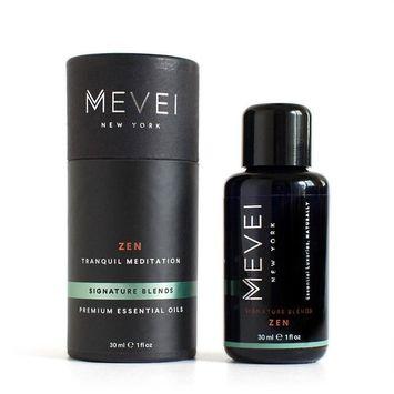 MEVEI | ZEN- Tranquil Meditation | Luxury Essential Oil Blend for Meditation | 100% Pure and Natural (1 fl oz/30 ml)